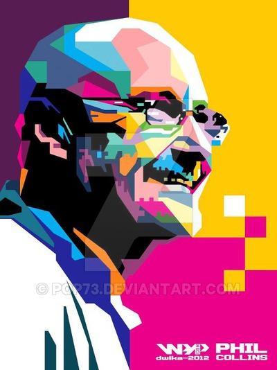 Phil Collins by pop73 on DeviantArt.