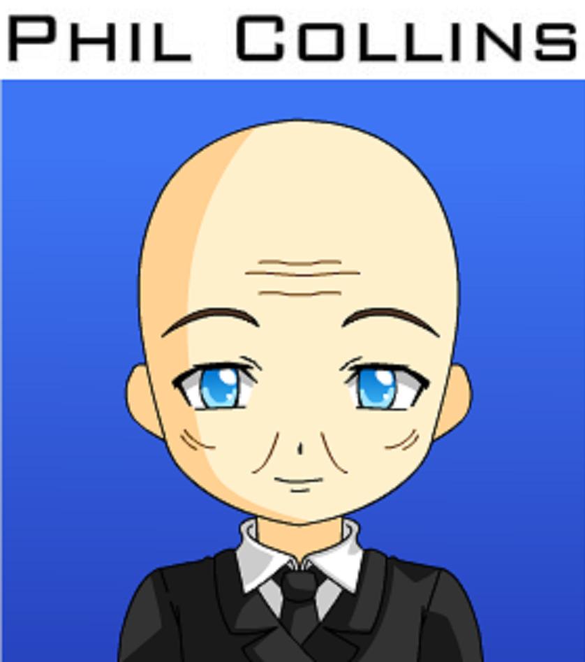 Phil Collins by JackHammer86 on DeviantArt.