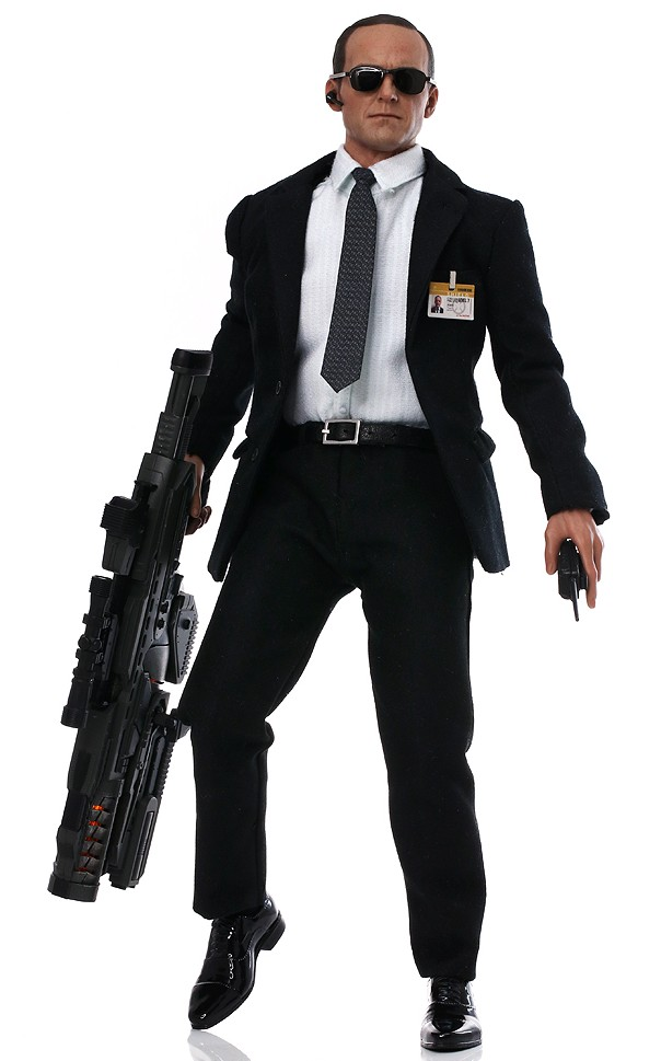 Avengers Hot Toys Agent Phil Coulson Sixth.