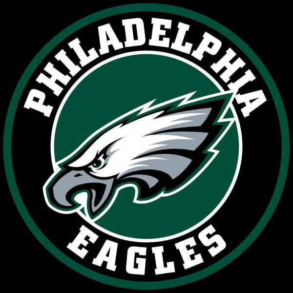 Details about Philadelphia Eagles Circle Logo Vinyl Decal / Sticker 10  sizes!!.