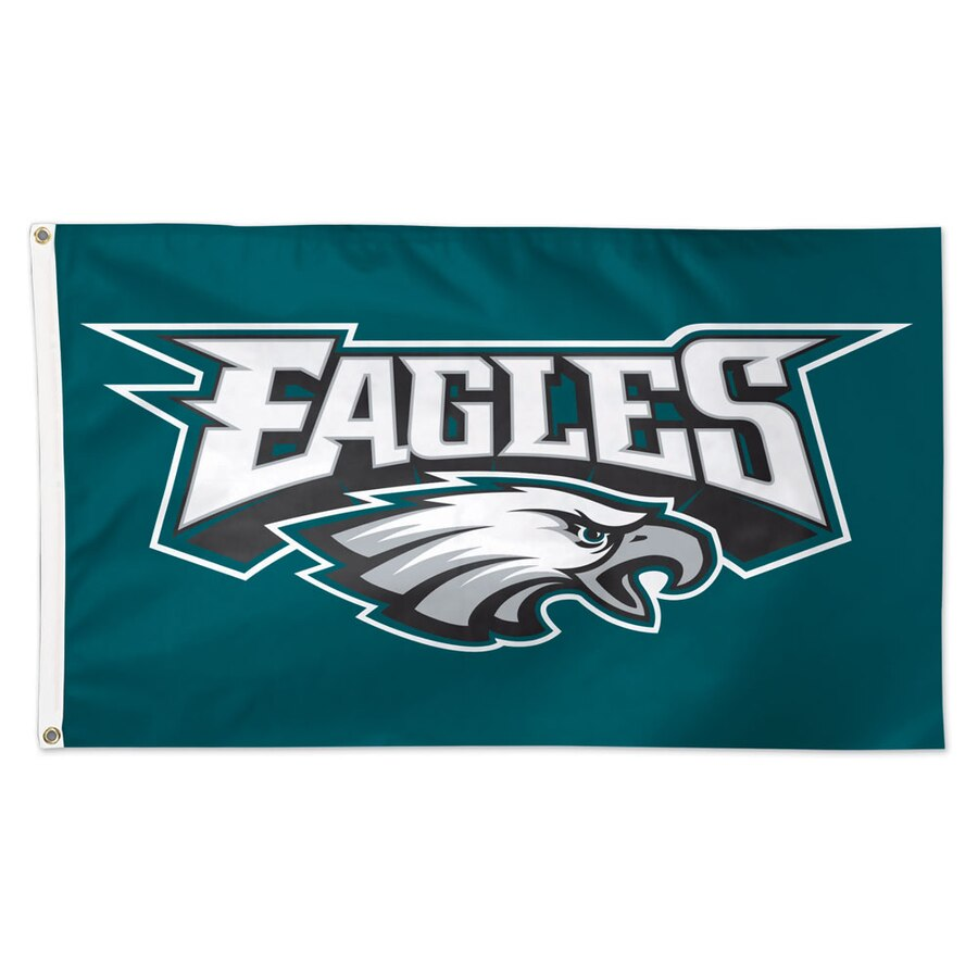 Philadelphia Eagles WinCraft Deluxe 3\' x 5\' Logo Flag.