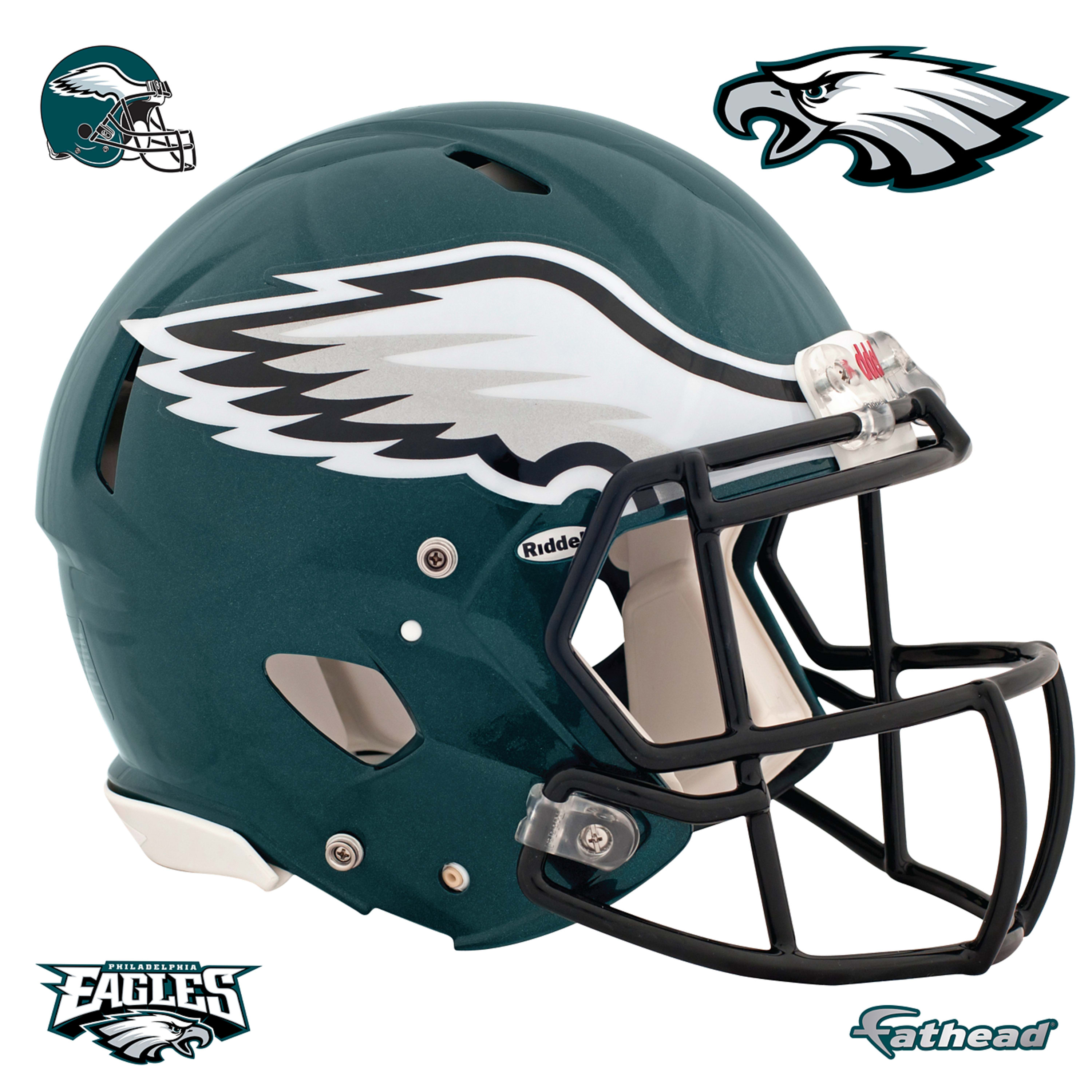 Philadelphia Eagles: Helmet.