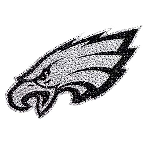 Amazon.com : Philadelphia Eagles XL Logo Black & White Auto.