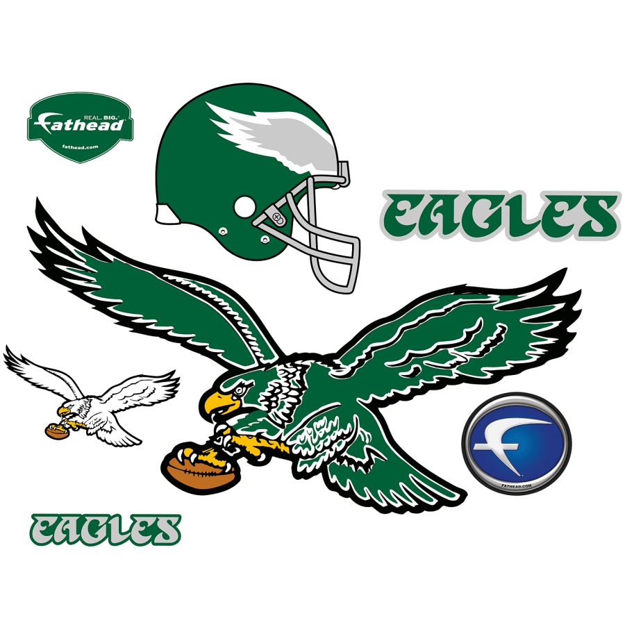 Philadelphia Eagles: Classic Logo.