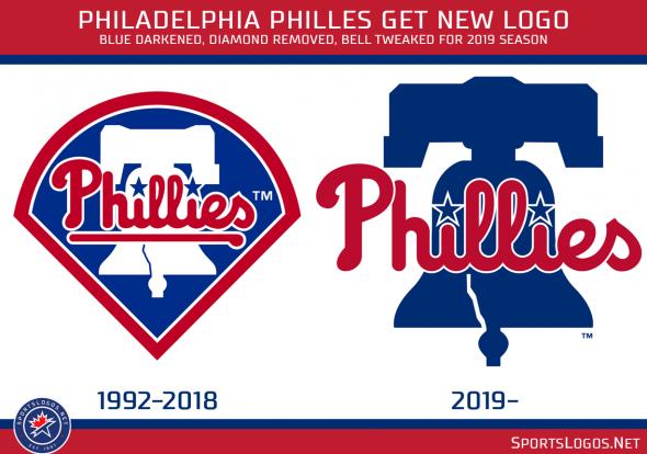 Philadelphia Phillies Unveil New Primary Logo.