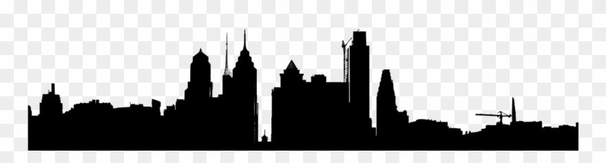 philadelphia skyline clipart #1