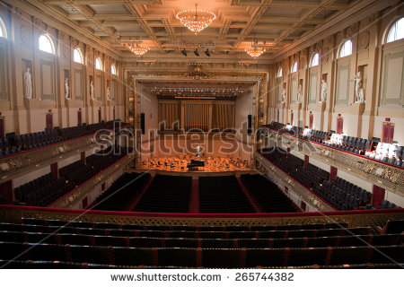 Symphony Hall Stock Images, Royalty.