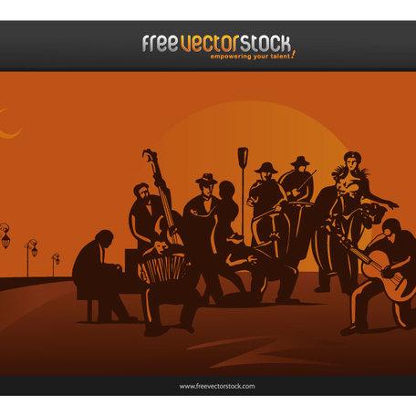 Orchestra Clip Art, Vector Orchestra.