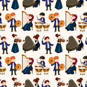 Orchestra Clip Art Vector Graphics. 7,450 orchestra EPS clipart.
