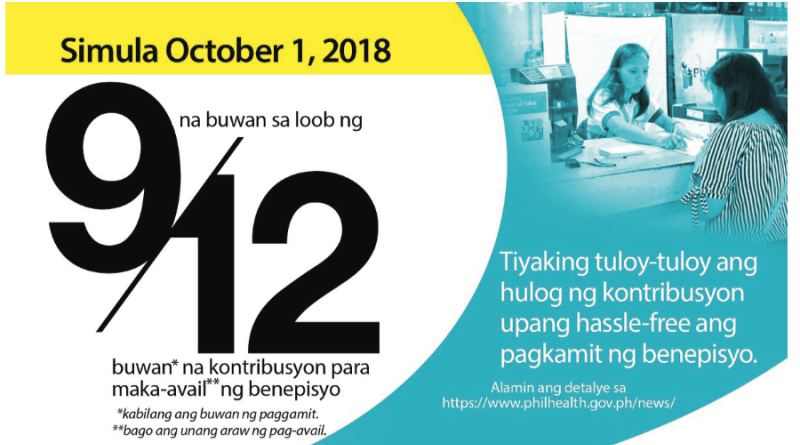 PhilHealth: New Policy on Benefit Eligibility to Start in.