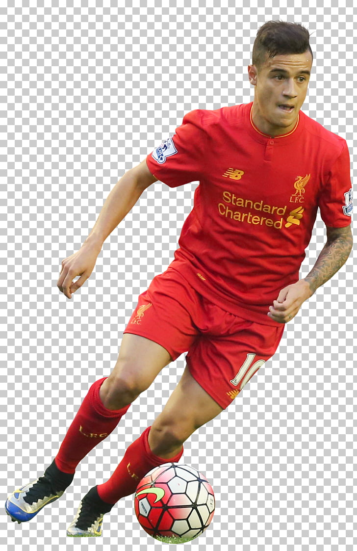 Philippe Coutinho Liverpool F.C. Jersey Football player.