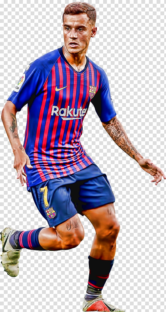 Philippe Coutinho Topaz transparent background PNG clipart.