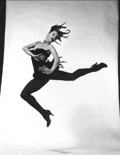 """Colette Marchand From """"Philippe Halsman's Jump Book"""" (1959."""
