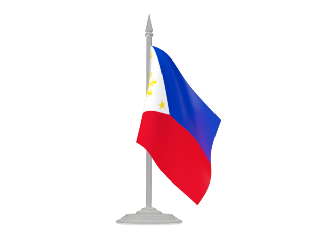 Flagpole Philippines Clipart.