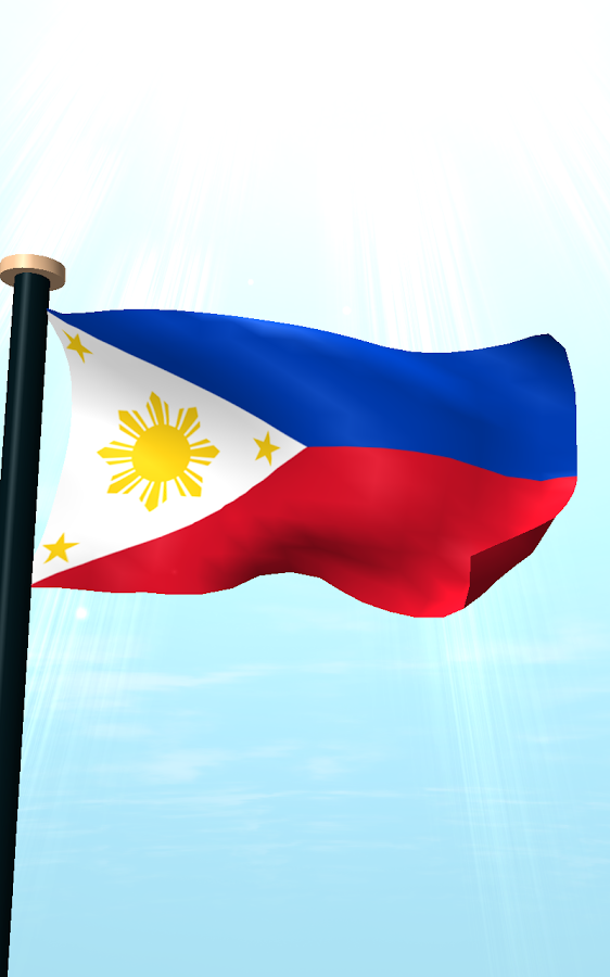 Philippine Flag Hanging In A Flag Pole Clipart Clipground