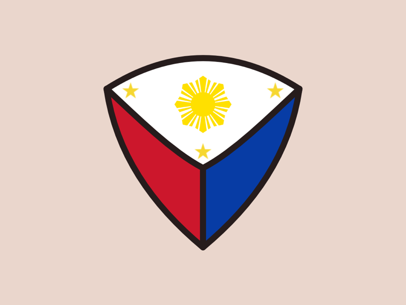 Philippine Flag Logo by Faisal Mohamed on Dribbble.
