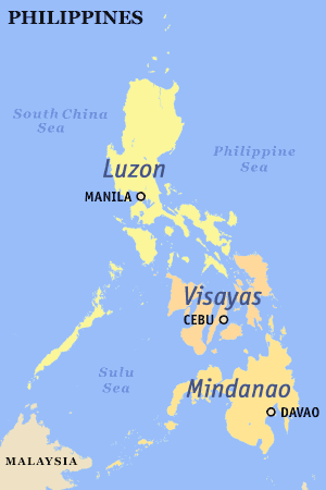 Island groups of the Philippines.