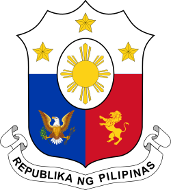 Coat of arms of the Philippines.