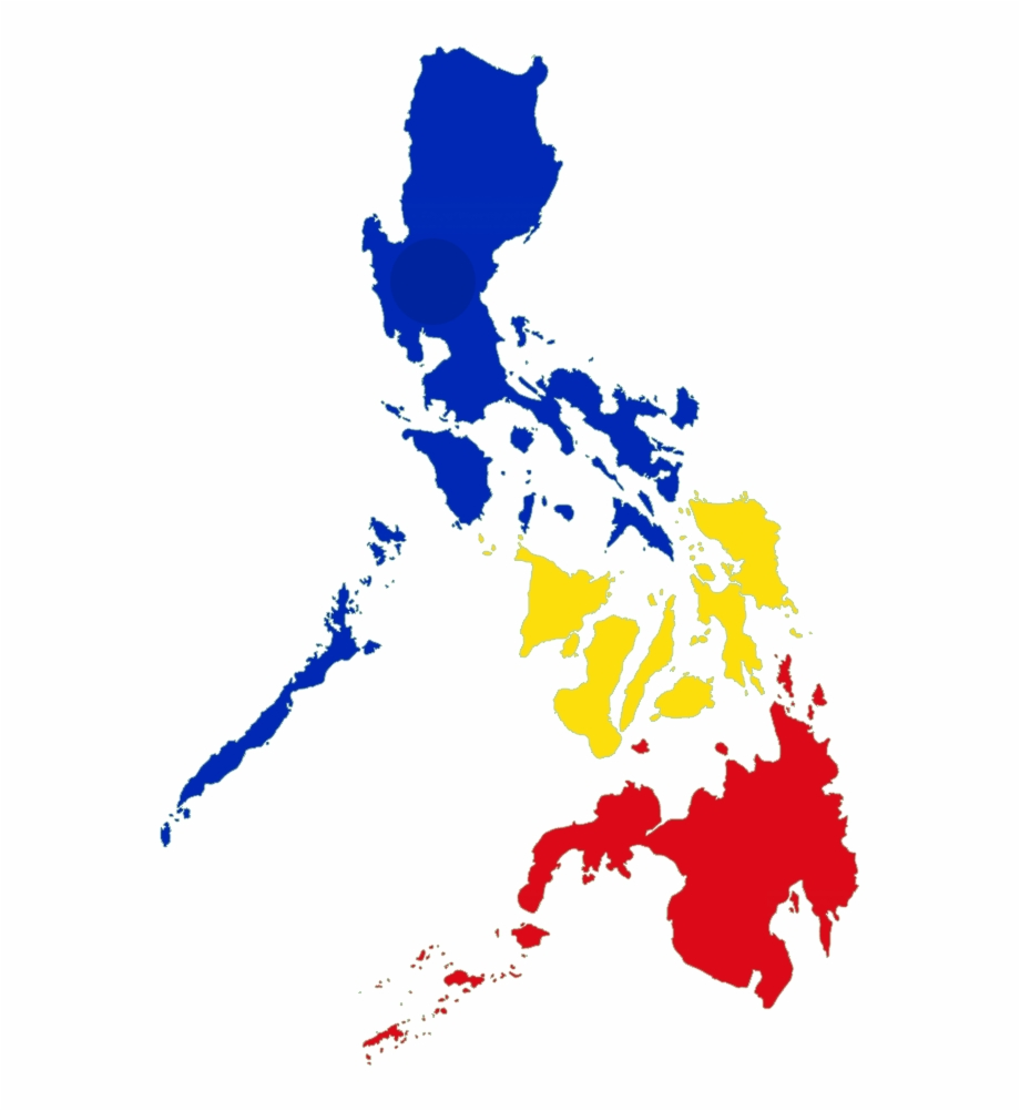 Philippine Map Png Image.