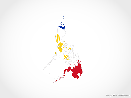Vector Maps of Philippines.