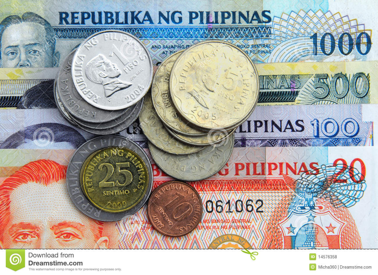 Philippines Money Stock Photos.