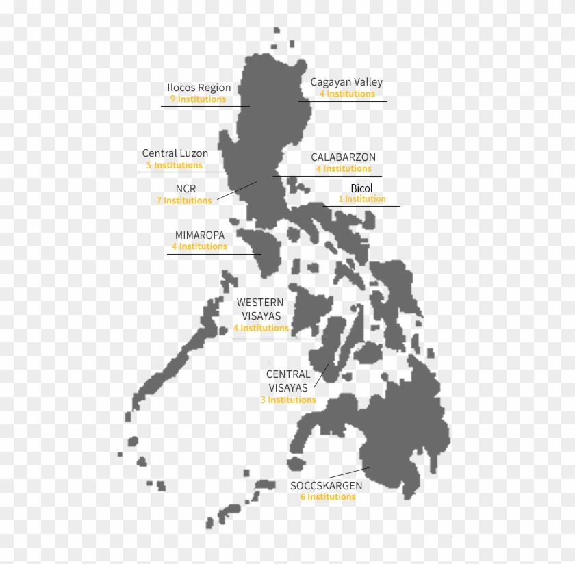 Map Of The Philippines, HD Png Download.