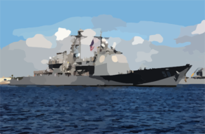 The Guided Missile Cruiser Uss Philippine Sea (cg 58) Departs From.
