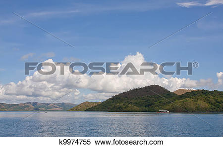 Stock Image of boat at philippines sea k9974755.
