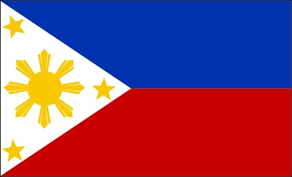 Philippines Flag Free Clipart.