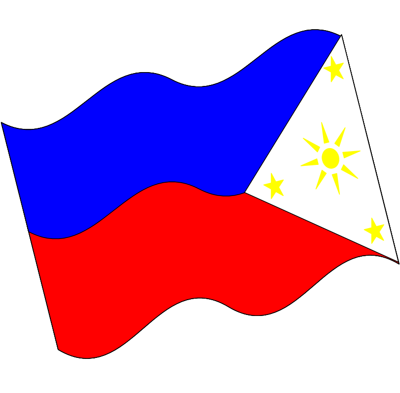 Philippines Flag Clipart.