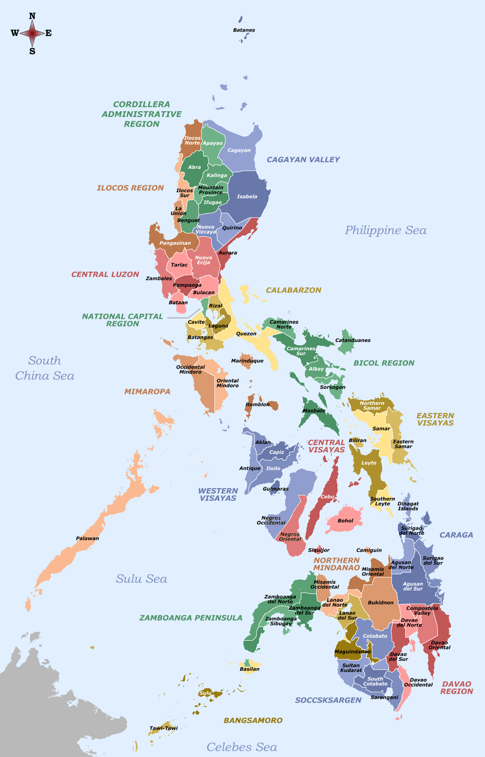 File:Labelled map of the Philippines.