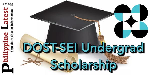 DOST Undergraduate Scholarship Program 2019.