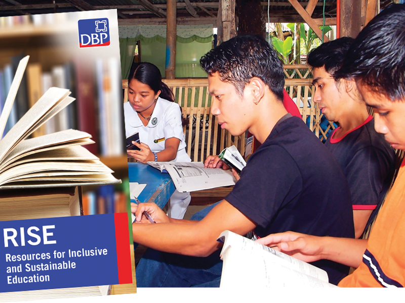 DBP boosts CSR initiatives with P500 million scholarship.