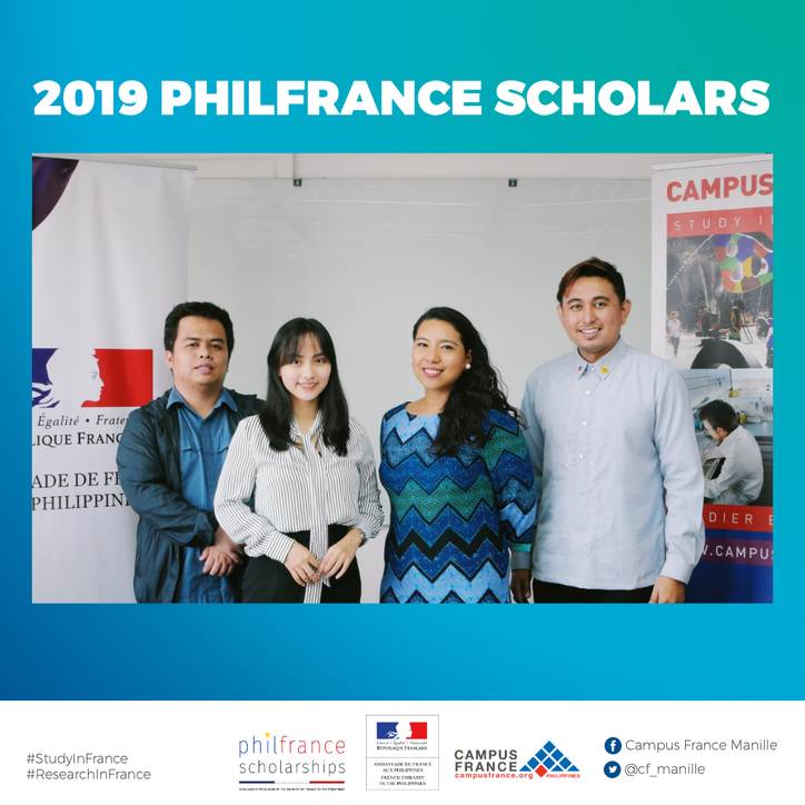 Congratulations to the 2019 PhilFrance scholars.