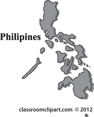 Simple Philippines Map.Philippine Clipart Clipground