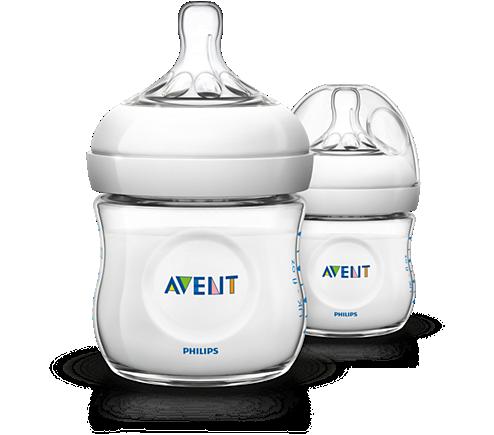 Natural baby bottle.