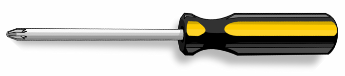 Phillips Screwdriver Clipart.