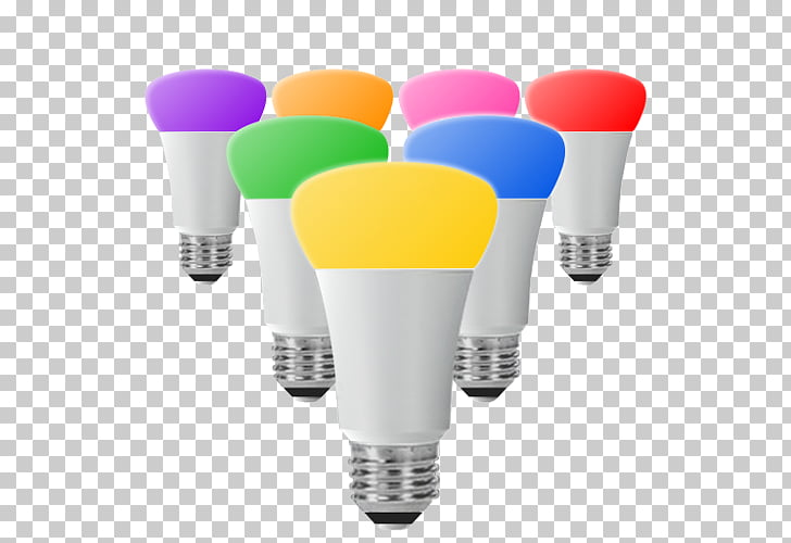 Philips Hue Lighting LED lamp, colored lanterns PNG clipart.
