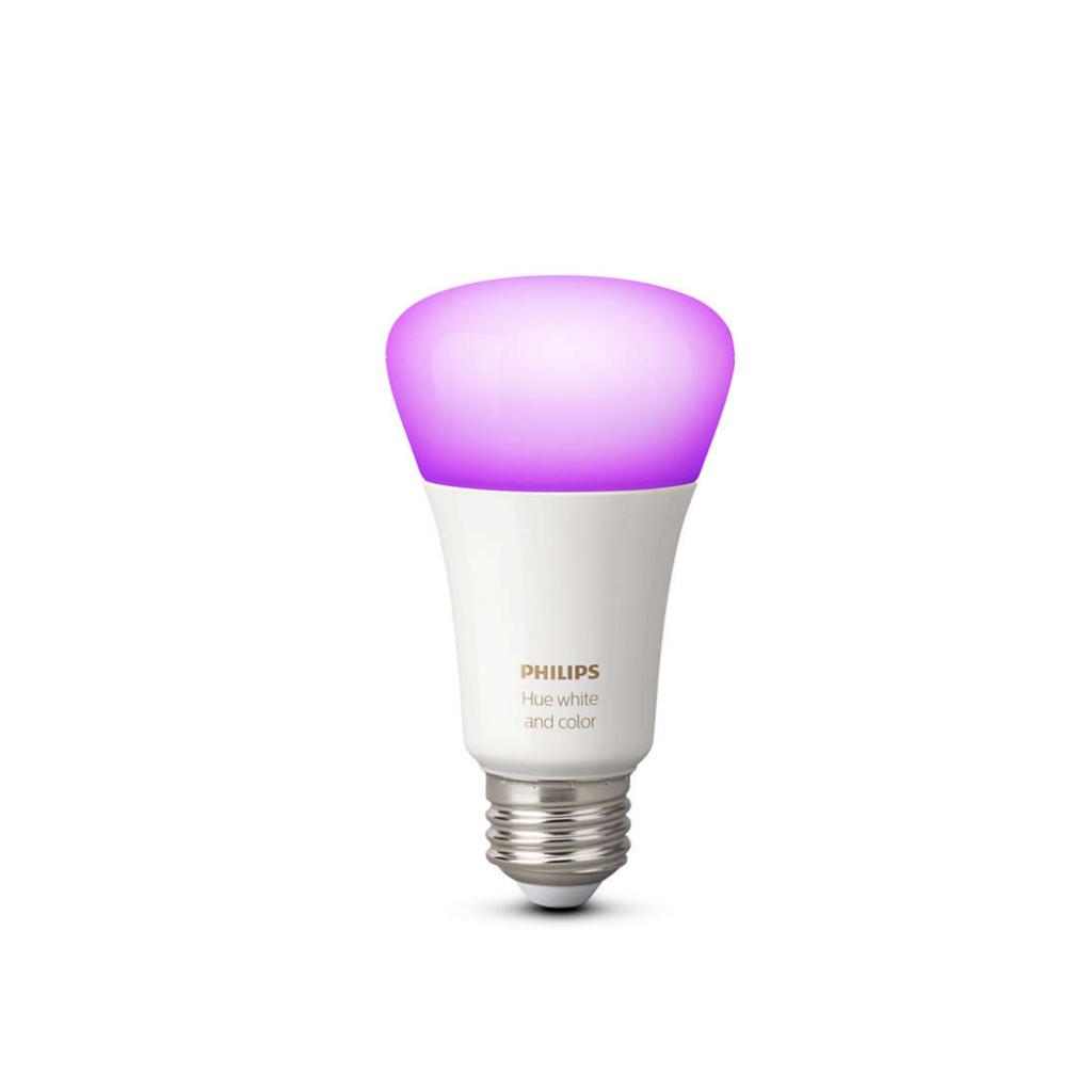 Philips Hue White and Colour Ambiance E27 Single Bulb.