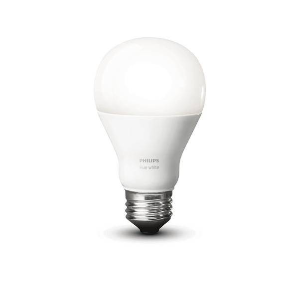 Philips Hue White A19 Single Bulb.