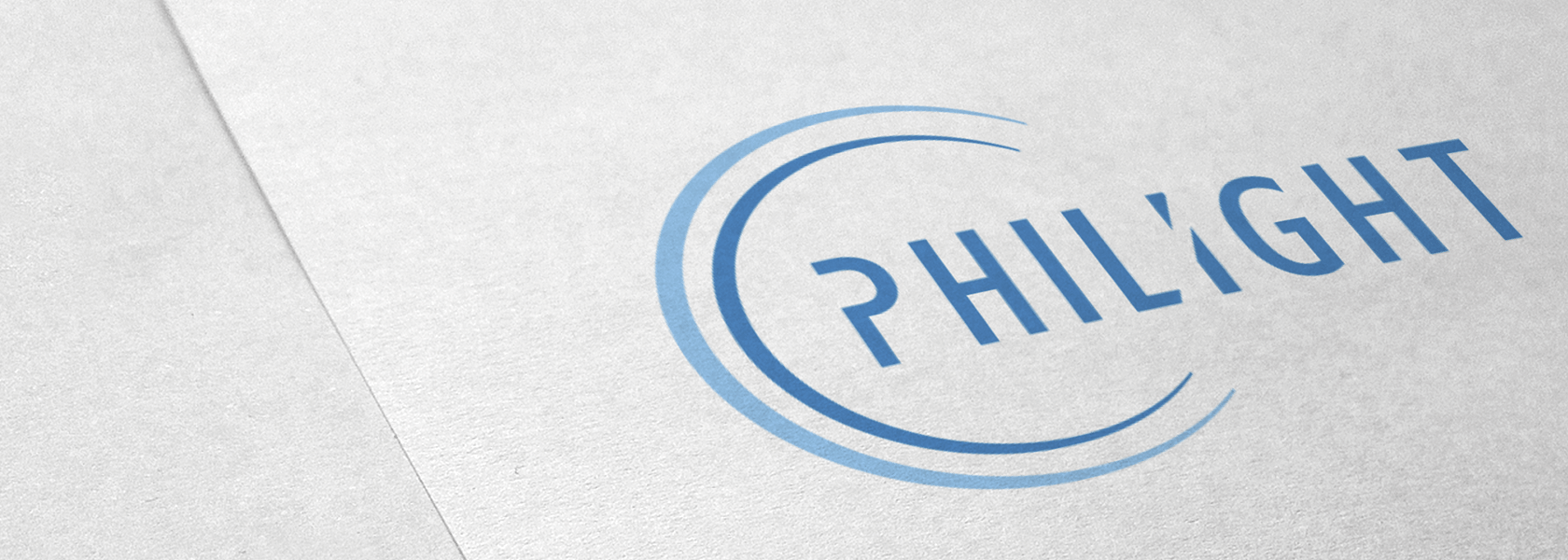 Visual identity for a distributor of Philips lighting.