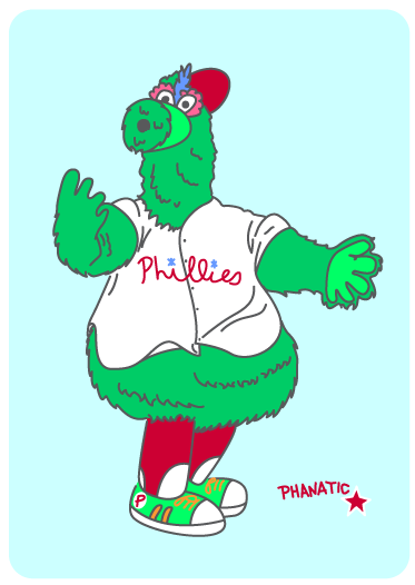 Showing post & media for Philly phanatic cartoon.