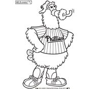 Phillies Phanatic Clipart.