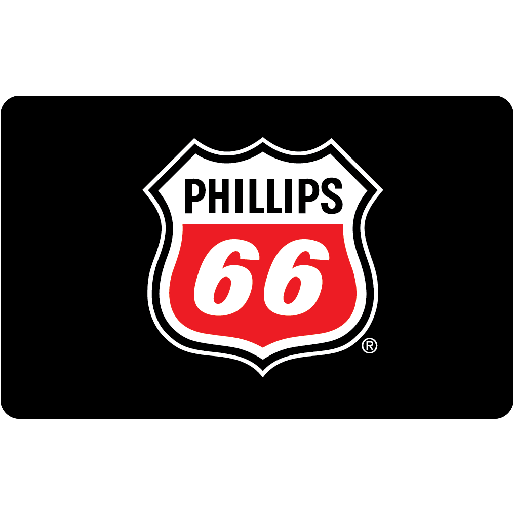 Phillips 66 Gift Card.