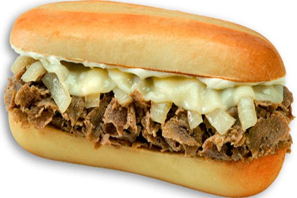 Cheese Steak Clipart.