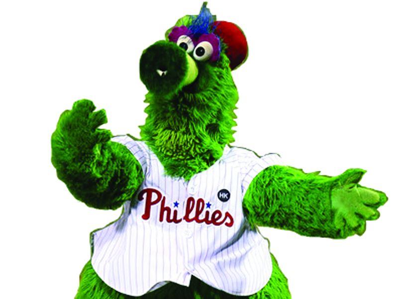 A day in the life of the Phillie Phanatic.