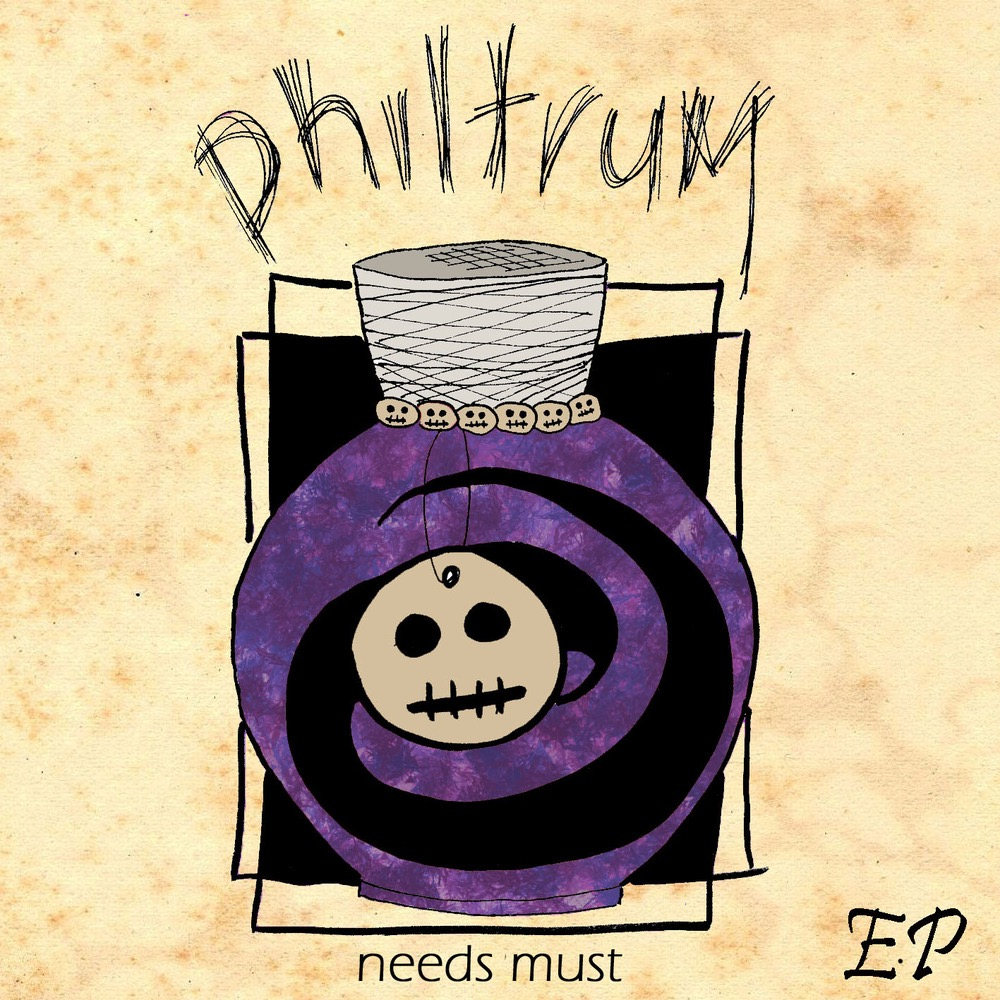 PHILTRUM — ' NEEDS MUST ' E.P (CD Format).