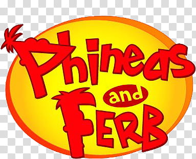 Phineas y ferb, Phineas and Ferb logo transparent background.