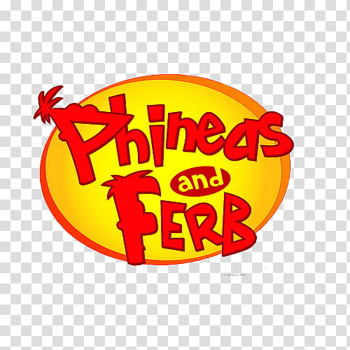 Logos, Phineas and Ferb logo transparent background PNG.