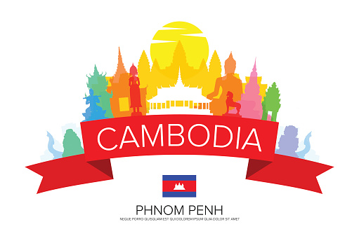 clipart map of cambodia - photo #33